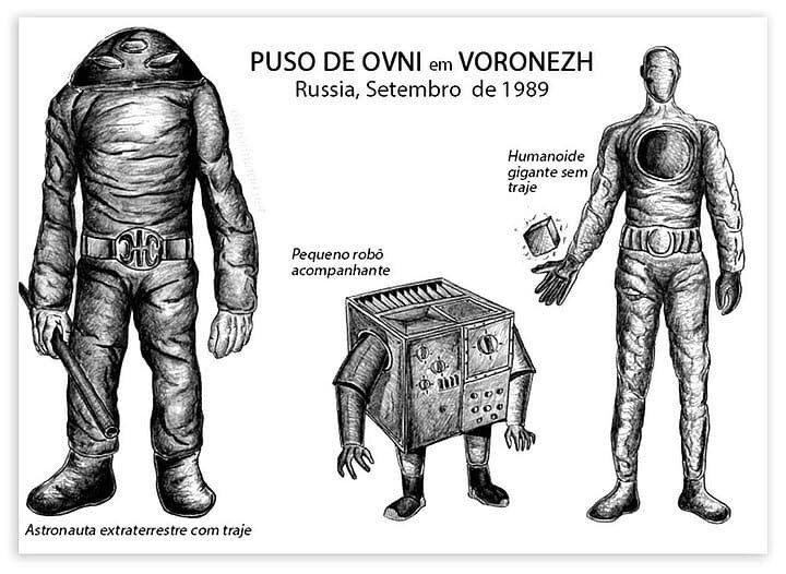 alieni di Voronezh